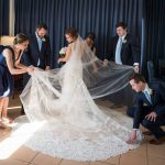 When you have a train and veil like this yourhellip