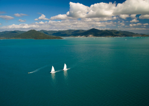 Aerial photography Whitsundays