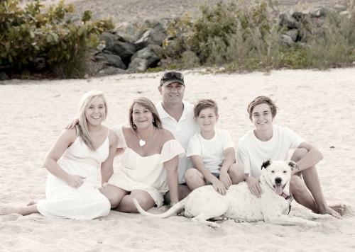 Whitsunday family portrait photography